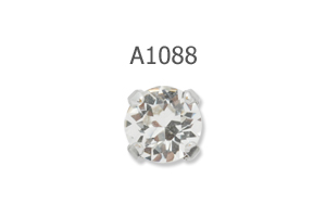 Aurora Crystal Cushion Fancy Stone A4470