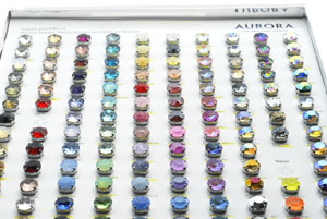 Aurora Crystal Color Chart