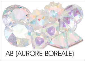AB Custom Coating on Swarovski crystals