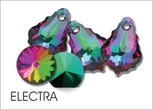 Electra EHA Custom Coating on Swarovski crystals