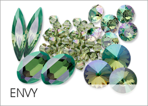 New! Envy Custom Coating on Swarovski crystals