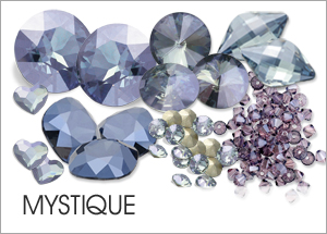 Mystique Custom Coating on Swarovski crystals