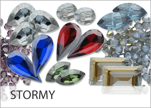 It's back! Stormy EHA Custom Coating on Swarovski crystals