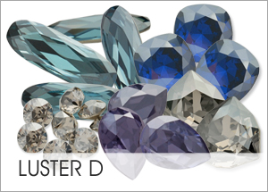 Luster-d EHA Custom Coating on Swarovski crystals
