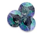 Swarovski 1088 XIRIUS Chaton Round Stone Violet Envy