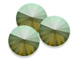 Swarovski 1122 Rivoli Round Stone Yellow Opal Envy