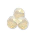 Swarovski 1088 XIRIUS Chaton Round Stone White Opal Lemon