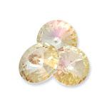 Swarovski 1122 Rivoli Round Stone Crystal Lemon