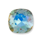 Swarovski 4470 Square Antique Fancy Stone Aqua Lemon