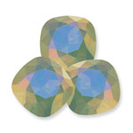 Swarovski 4470 Square Antique Fancy Stone Pacific Opal Lemon