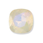 Swarovski 4470 Square Antique Fancy Stone White Opal Lemon