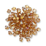 Swarovski 5328 XILION Bi-cone Bead Light Topaz Lemon
