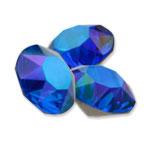 Swarovski 1088 XIRIUS Chaton Round Stone Majestic Blue Glacier Blue