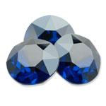 Swarovski 1088 XIRIUS Chaton Round Stone Majestic Blue Luster D