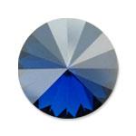 Swarovski 1122 Rivoli Round Stone Majestic Blue Luster D
