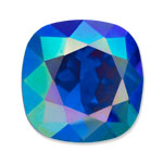 Swarovski 4470 Square Antique Fancy Stone Majestic Blue AB