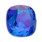 Swarovski 4470 Square Antique Fancy Stone Majestic Blue Glacier Blue