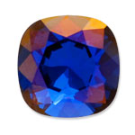 Swarovski 4470 Square Antique Fancy Stone Majestic Blue Lemon