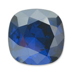 Swarovski 4470 Square Antique Fancy Stone Majestic Blue Luster D