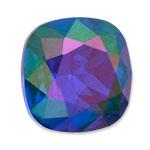 Swarovski 4470 Square Antique Fancy Stone Majestic Blue Purple Haze