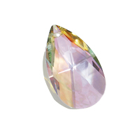 Swarovski Pear-shaped Pendant 6106 Crystal Purple Haze