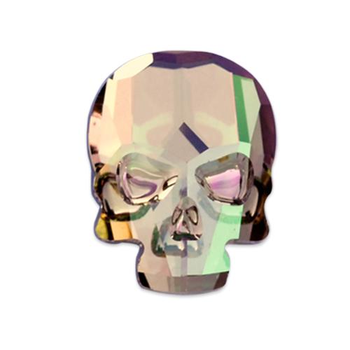 Swarovski Skull Flat-Back 2856 Crystal Purple Haze