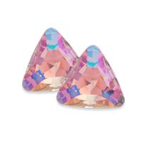 Swarovski Triangle Fancy Stone 4722 Crystal Purple Haze