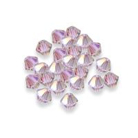 Swarovski XILION Bi-cone Bead 5328 Crystal Purple Haze