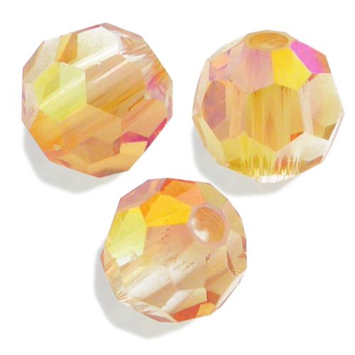 Swarovski Round Bead 5000 Crystal Summer Blush