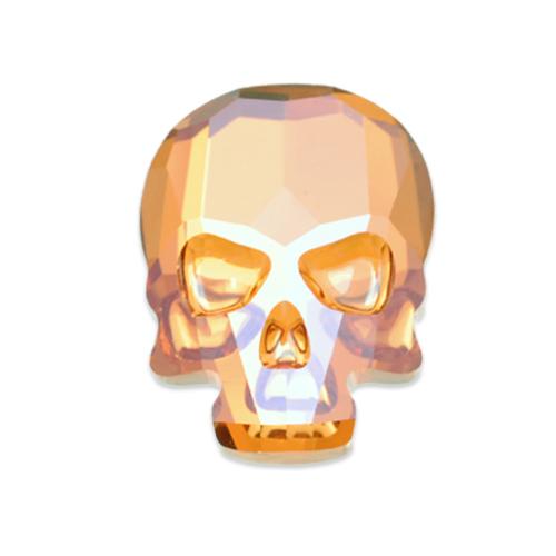 Swarovski Skull Flat Back 2856 Crystal Summer Blush