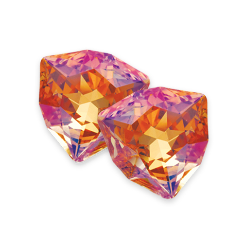 Swarovski Trilliant Fancy Stone 4706 Crystal Summer Blush