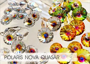 polaris-quasar-nova Custom Coating on Swarovski crystals