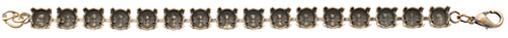 Wholesale Empty Cupchain Brass Ox for Swarovski 1088 and 1122 47ss