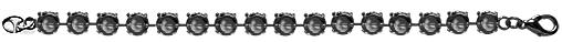 Wholesale Empty Cupchain Hematite for Swarovski 1088 and 1122