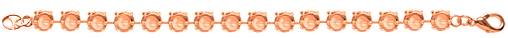 Wholesale Empty Cupchain Rose Gold for Swarovski 1088 and 1122