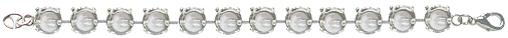 Wholesale Empty Cupchain Rhodium for Swarovski 1088 and 1122