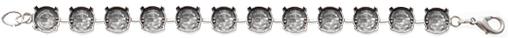 Wholesale Empty Cupchain SilverOx for Swarovski 1088 and 1122