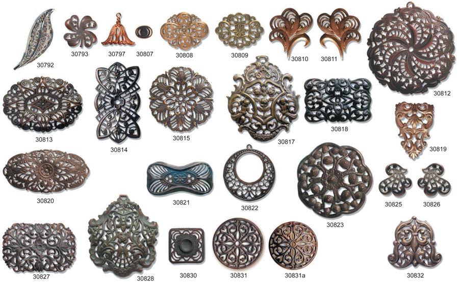 wholesale jewelry settings for swarovski crystal earring settings