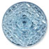 13266 Mosaic Glass Engraved Flat Back Stone Aqua