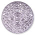 13267 Mosaic Glass Engraved Flat Back Stone Light Rose