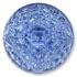 13270 Mosaic Glass Engraved Flat Back Stone Sapphire