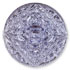 13271 Mosaic Glass Engraved Flat Back Stone Tanzanite