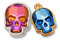 Skull setting
