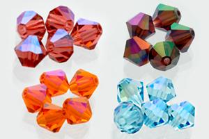 Preciosa Custom Coatings Crystal Beads