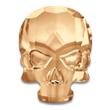 Swarovski Skull 2856 Crystal Golden Shadow