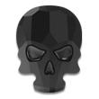 Swarovski Skull 2856 Jet