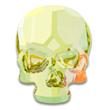 Swarovski Skull 2856 Crystal Lemon