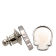 2856R Skull Flatback Setting Tack Pin Imt. Rhodium 10x7.5mm