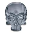 Swarovski Skull 2856 Crystal Silver Night
