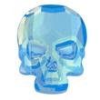 Swarovski Skull 2856 Ultra Blue AB
